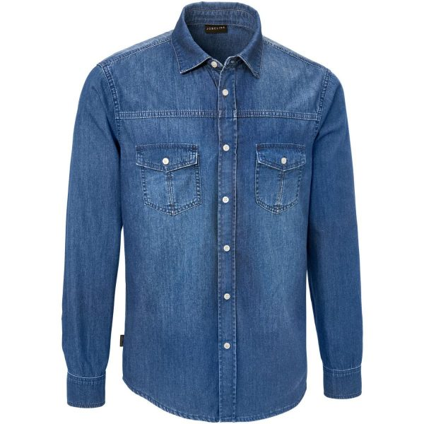 Denimová pánska košeľa Jean