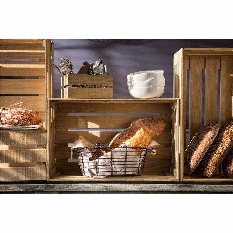 Košík na chleba Berena s rúčkou