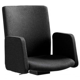 Sedadlo pre konferenčnú stoličku Sequencio Premium s podrúčkami látka