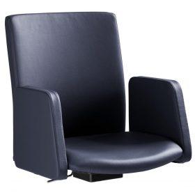 Sedadlo pre konferenčnú stoličku Sequencio Premium s podrúčkami koženka