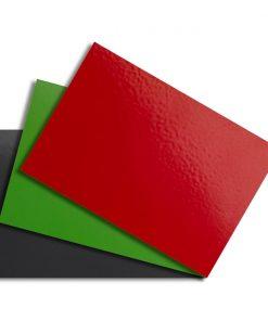 Hliníkové vzorky farebné