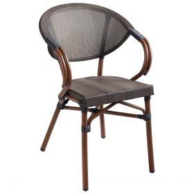 Stolička Rimalia s podrúčkami