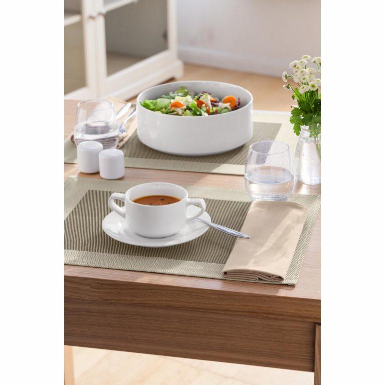 Podšálka pod polievku/kávu s mliekom Base
