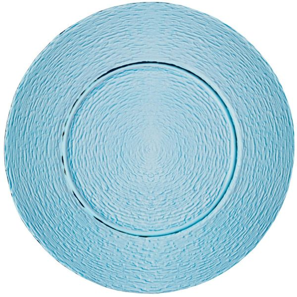 Sklenený tanier Padua farebný