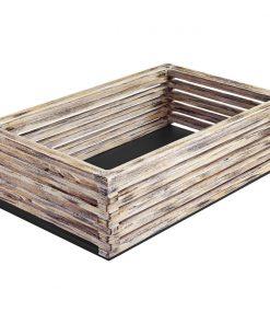 Základný box Natchez vysoký vintage biela