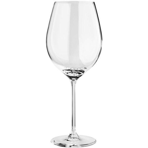Pohár na ružové víno Grazia s ryskou 0.2l