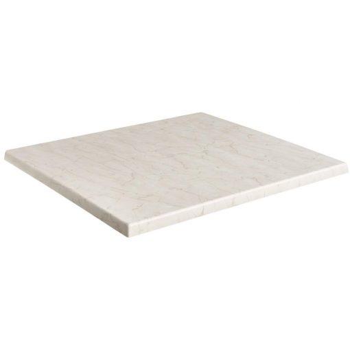 Werzalitová stolová doska Marmor Bianco