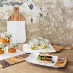 Melamínové taniere a podnosy