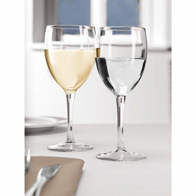 Pohár na biele víno Dulcinea s ryskou