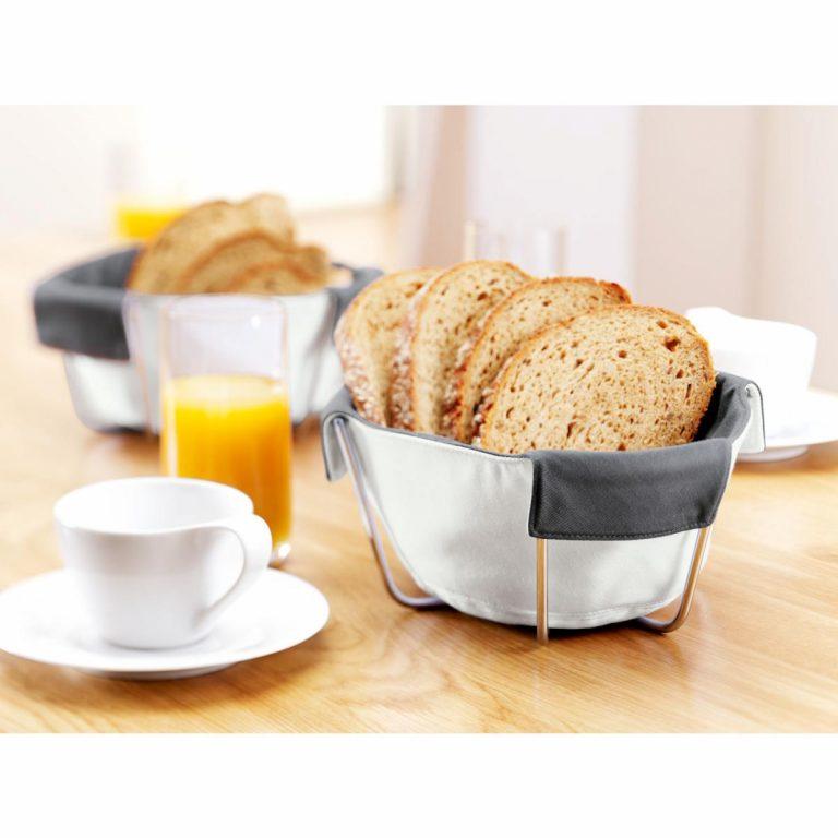 Nerezový košík pre tašku na chlieb Attilio