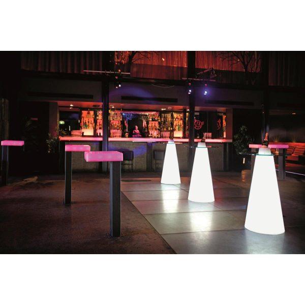 Svietiaci barový stôl Luminar