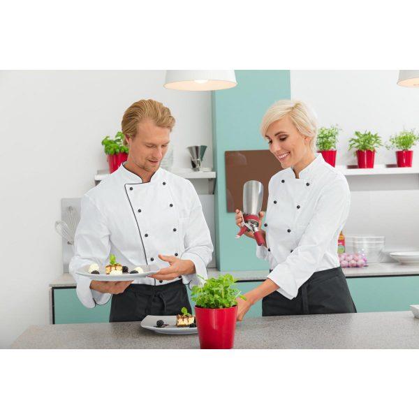 Dámsky kuchársky rondón Aila dlhý rukáv