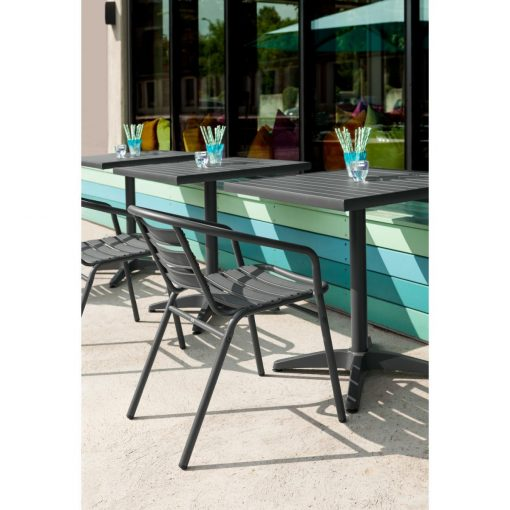 Hliníková stolička Malvena