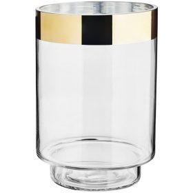 Dekoračná sklenená váza Bibiana