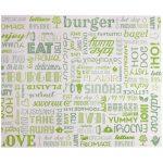 Burger papiere Pergamo 34 x 28 cm