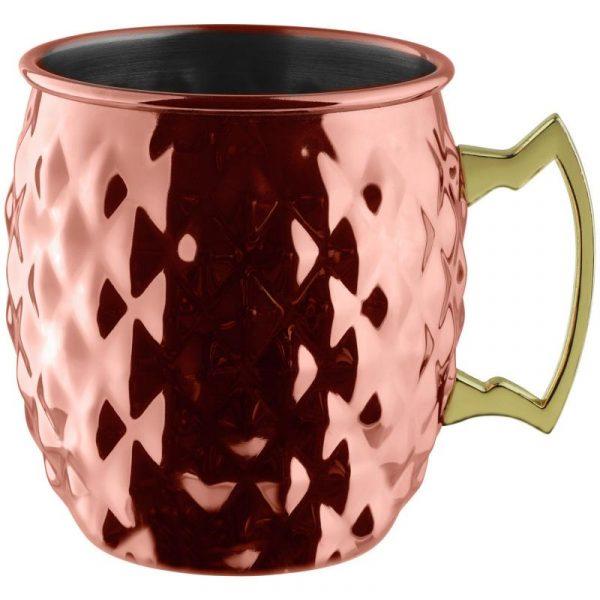 Moscow Mule pohár Glendale kosoštvorcový vzor