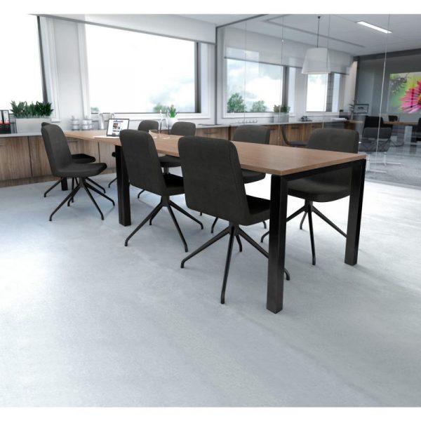 Stôl Conferencio s uzavretou podnožou