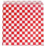 Vrecká Pergamo červená biela