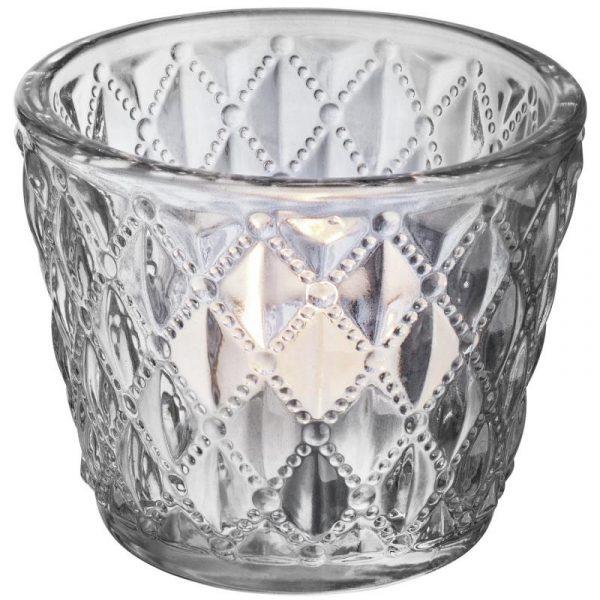 Svietnik na čajové sviečky Anola