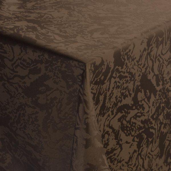 Obrus Marmor hnedý